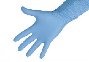 Нитриловые рукавицы