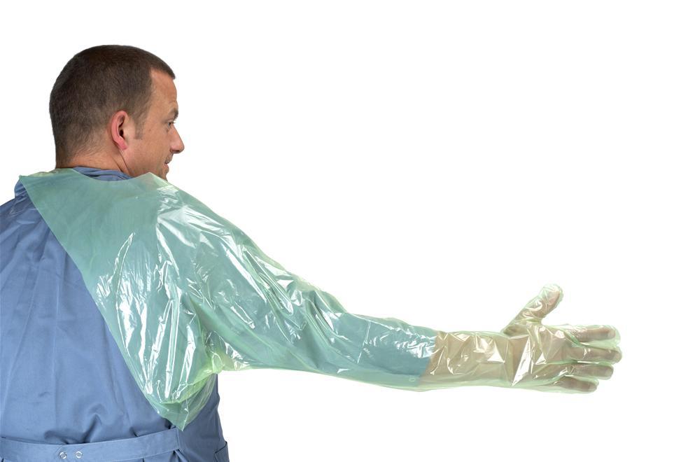 Перчатки с наплечником 90 см