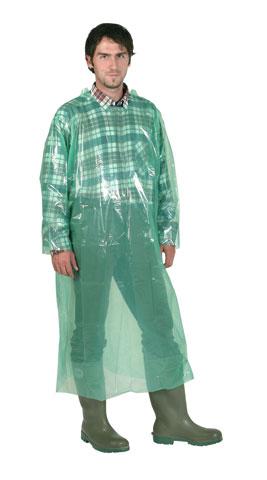 одноразовый костюм зеленого цвета