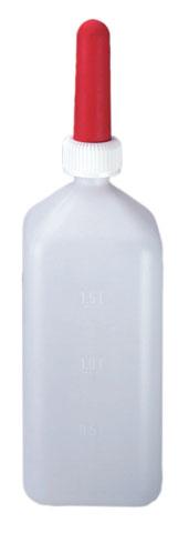 Бутылка с соской для выпойки телят