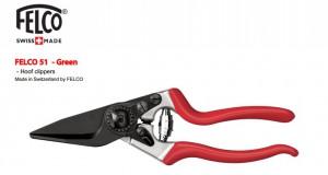 Ножницы для обрезки копыт у овец и коз Felco 51 (Швейцария)