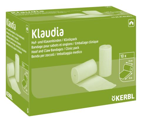 Бинт для копыт Klaudia,каждая в целофане