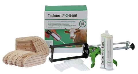 Набор для лечения копыт Technovit-2-Bond (с пистолетом дозатором)