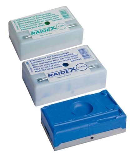 Восковой индикатор для выявления охоты у овцы Raidex
