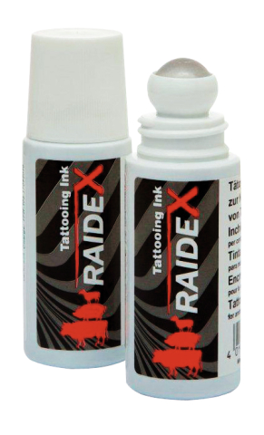 Татуировочная краска в емкости с шариком Raidex