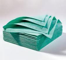 Салфетки многоразовые для протирки вымени Вискоза Грин зеленые