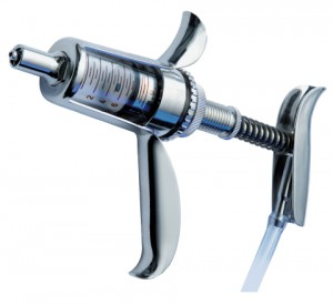 Шприц вакцинатор автоматический самозаправляющийся HSW VET-MATIC