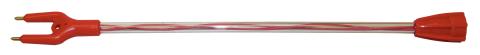 Гибкий запасной хлыст 57 см. Master Shok PRO (для всех моделей)