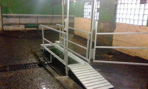 Ванна для промывки и лечения копыт КРС